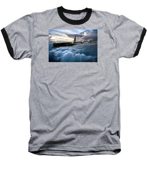 I Am Legend B-52 Baseball T-Shirt by Peter Chilelli