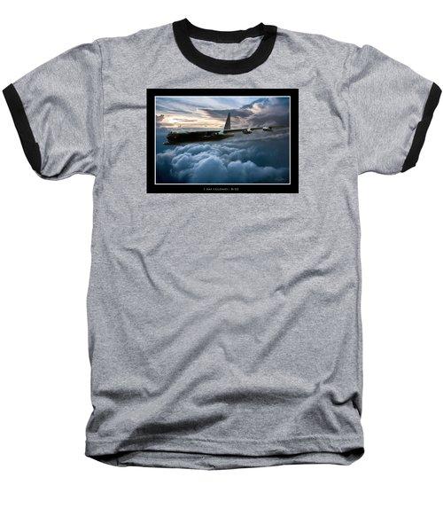I Am Legend B-52 V2 Baseball T-Shirt by Peter Chilelli