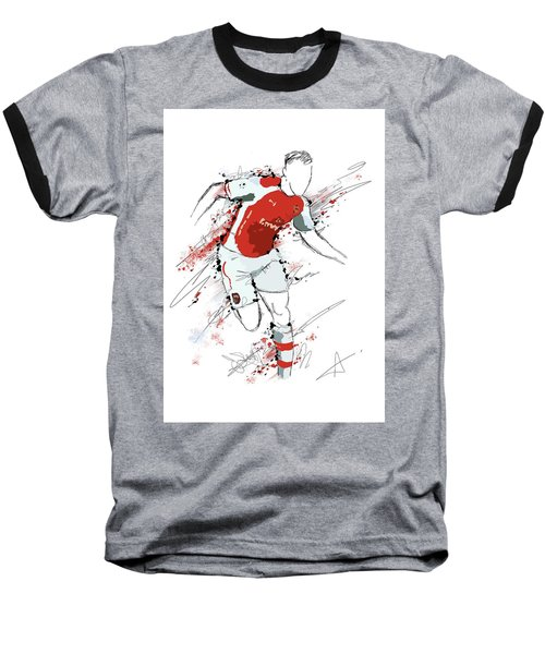 I Am Red And White Baseball T-Shirt