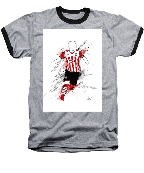 I Am Red And White Stripes Baseball T-Shirt