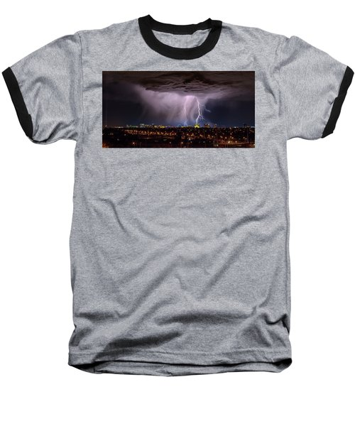 Baseball T-Shirt featuring the photograph I Am So Glad We Had This Time Together by Michael Rogers