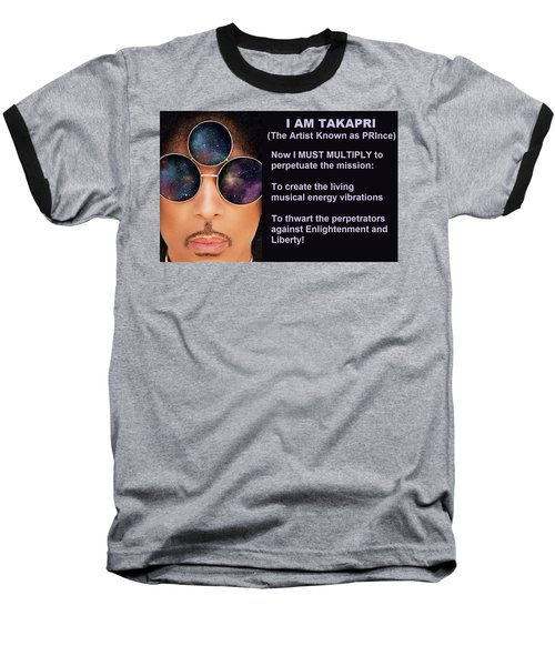 I Am Takapri Baseball T-Shirt