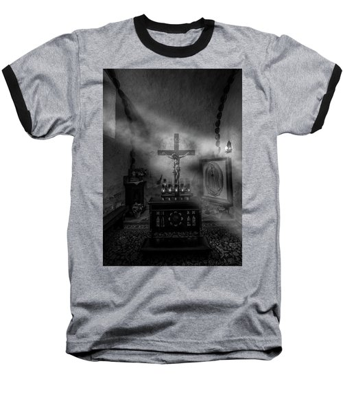 Baseball T-Shirt featuring the photograph I Am The Light Of The World by David Morefield
