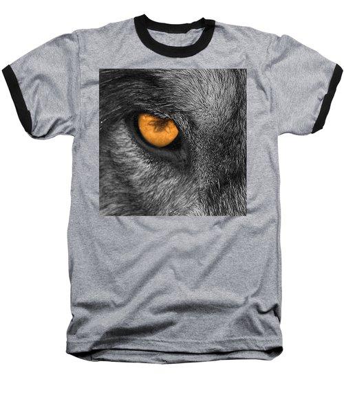 I Am Wolf Baseball T-Shirt