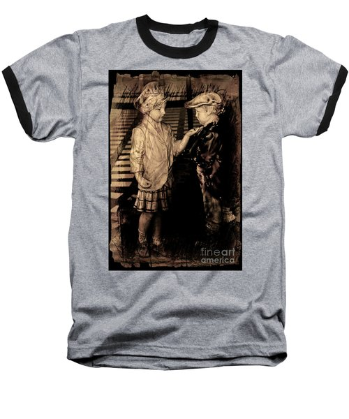 Baseball T-Shirt featuring the photograph I Approve by Al Bourassa