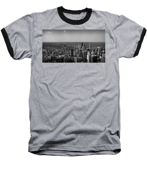 Baseball T-Shirt featuring the photograph I Can See For Miles And Miles by Howard Salmon