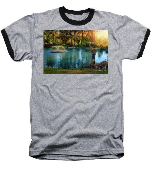 I Could Be Fishing Baseball T-Shirt