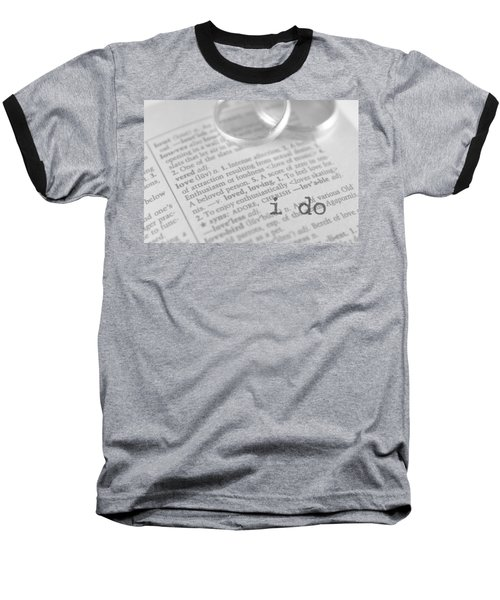 I Do Baseball T-Shirt by Bobby Villapando