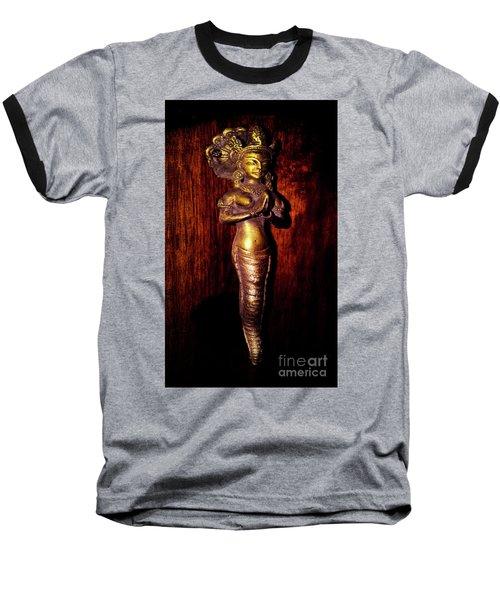 Baseball T-Shirt featuring the photograph I Dream Of Genie by Al Bourassa