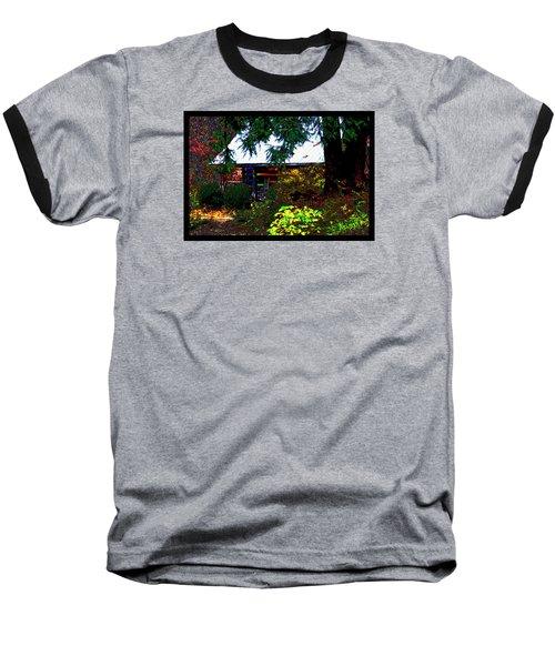 I Dreamt I Was A Cabin Baseball T-Shirt by Susanne Still