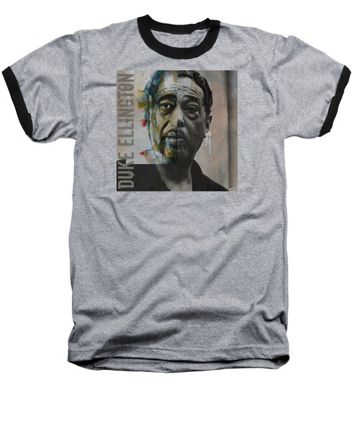 Baseball T-Shirt featuring the painting I Got It Bad And That Ain't Good by Paul Lovering