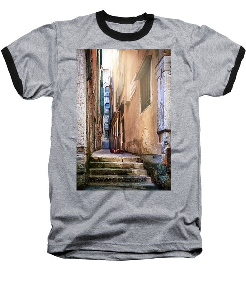 I Have Seen Your Trolley, Somewhere In Venice Baseball T-Shirt