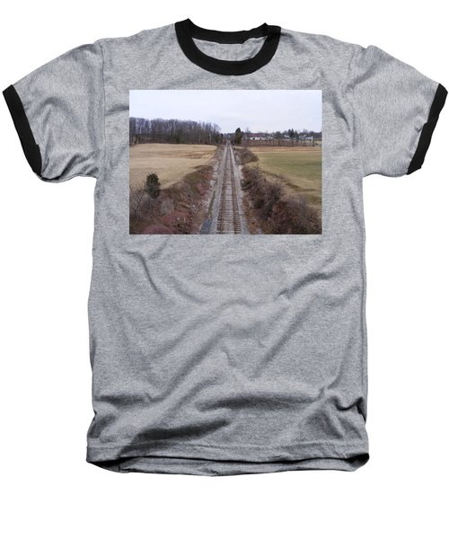 I Hear That Train A Comin' Baseball T-Shirt
