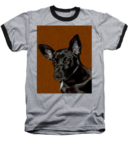 I Hear Ya - Dog Painting Baseball T-Shirt