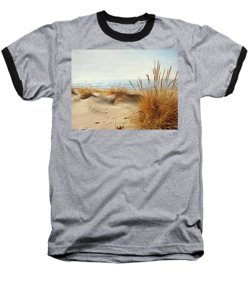 Baseball T-Shirt featuring the photograph I Hear You Coming  by Kathi Mirto