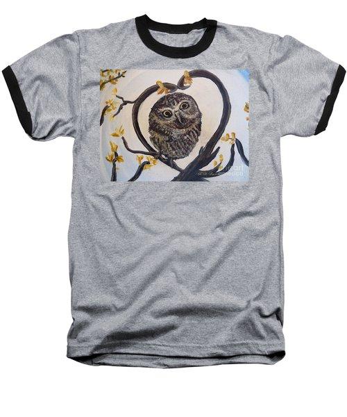 I Heart You Baseball T-Shirt by Kimberlee Baxter
