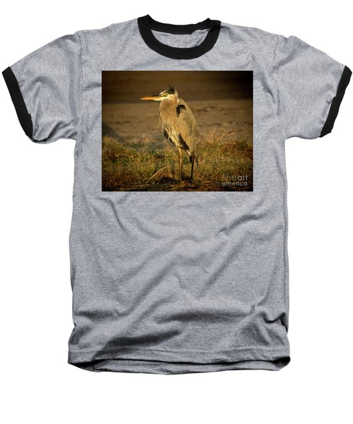 I Know They Are Coming Wildlife Art By Kaylyn Franks Baseball T-Shirt