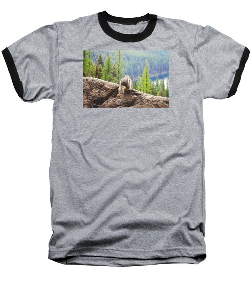 Baseball T-Shirt featuring the photograph I Love My Home by Janie Johnson