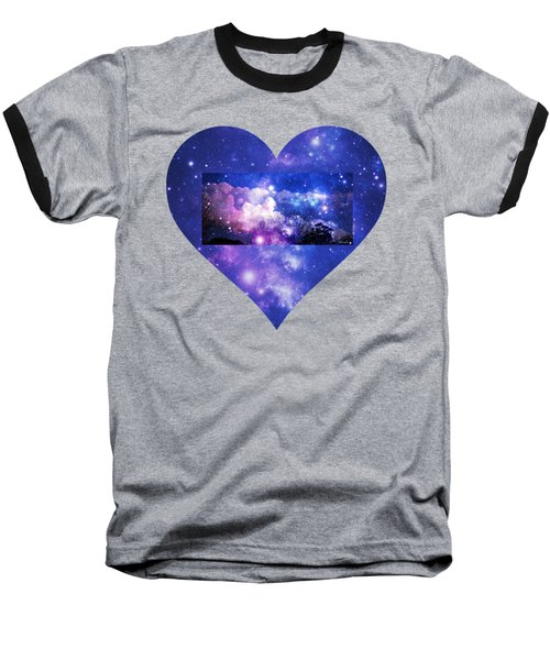 I Love The Night Sky Baseball T-Shirt