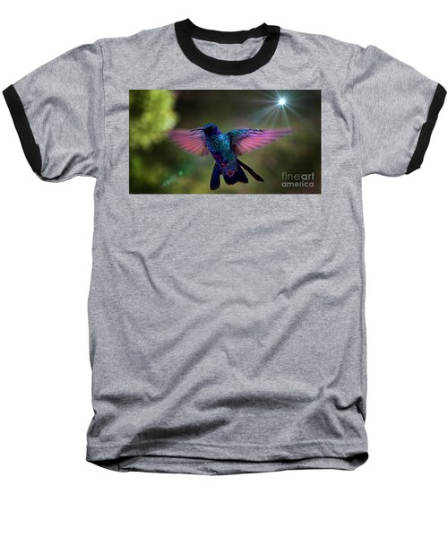 Baseball T-Shirt featuring the photograph I Love Tom Thumb by Al Bourassa