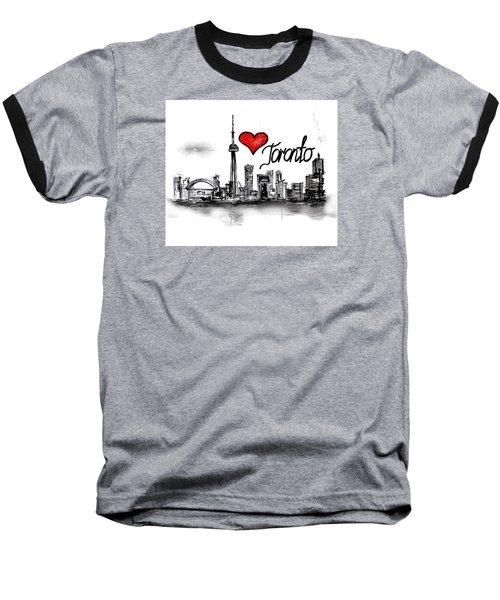 I Love Toronto Baseball T-Shirt