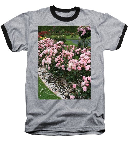 ...........i Never Promised You A Rose Garden Baseball T-Shirt by Martina Fagan