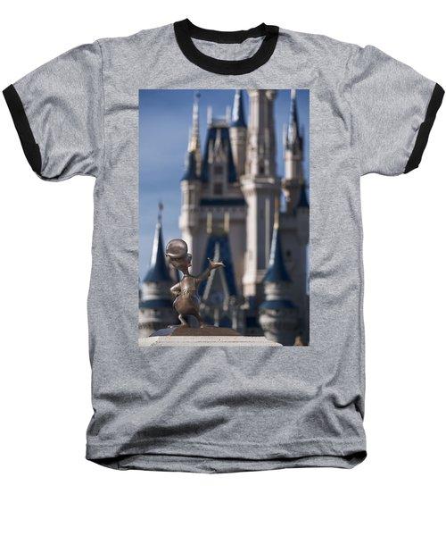 I Present You Cinderella's Castle Baseball T-Shirt