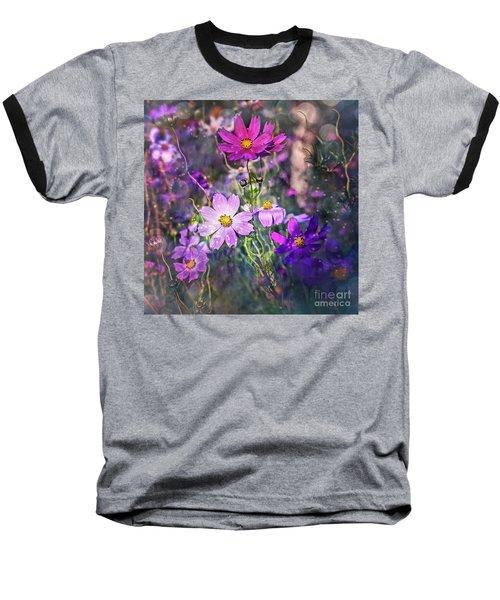 I Say A Little Prayer Baseball T-Shirt by Agnieszka Mlicka