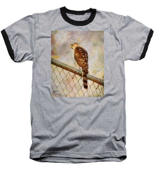Baseball T-Shirt featuring the photograph I See You by Rhonda Strickland