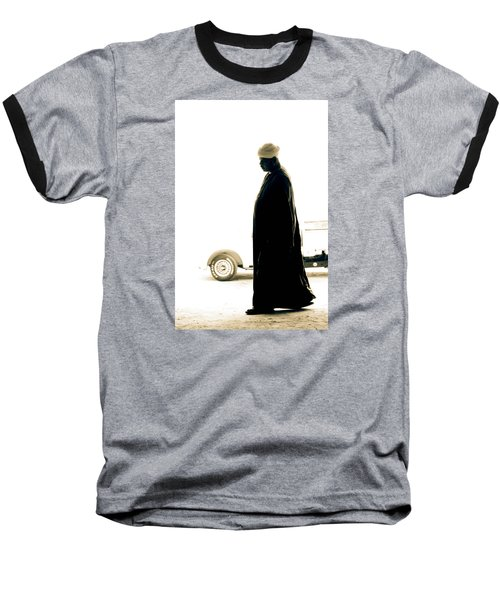 Baseball T-Shirt featuring the photograph I Try To Be Positive  by Jez C Self