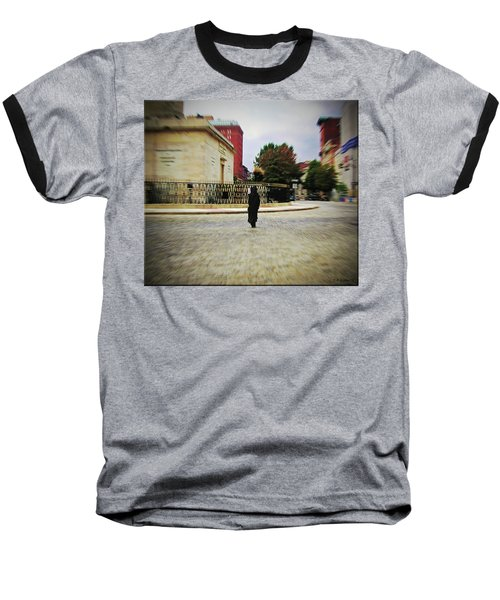 Baseball T-Shirt featuring the photograph I Walk Alone by Brian Wallace