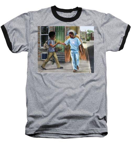 I Walk With Angels Baseball T-Shirt