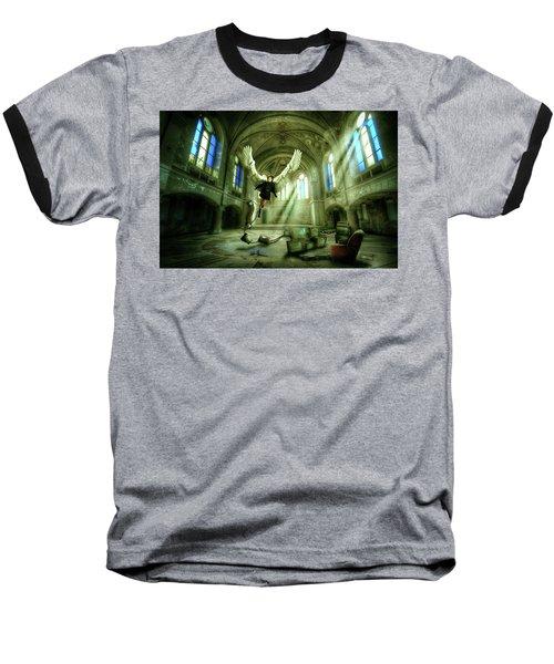 I Want To Brake Free Baseball T-Shirt by Nathan Wright