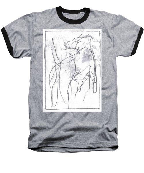 I Was Born In A Mine 10 Baseball T-Shirt