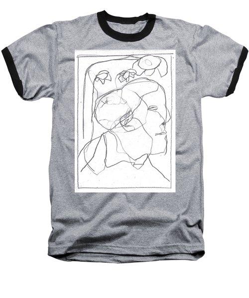 I Was Born In A Mine 11 Baseball T-Shirt
