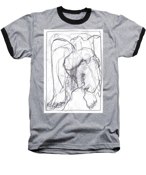 I Was Born In A Mine 12 Baseball T-Shirt