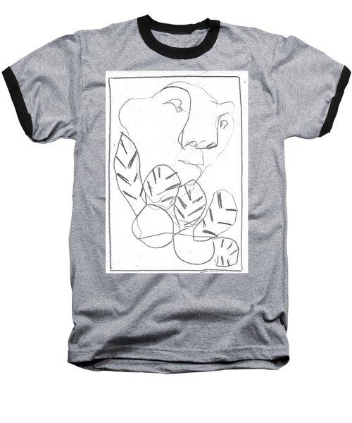 I Was Born In A Mine 2 Baseball T-Shirt