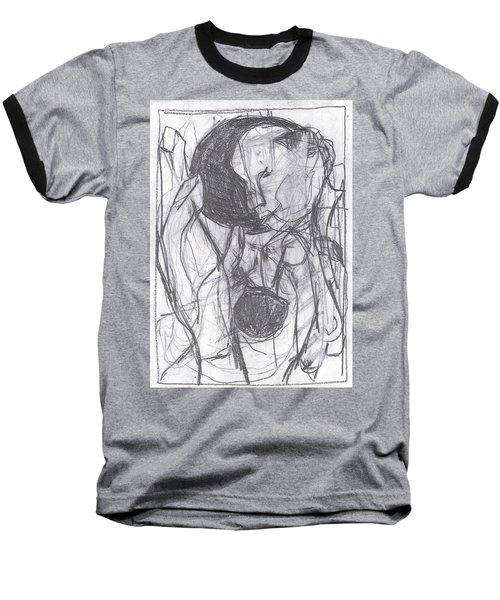 I Was Born In A Mine 3 Baseball T-Shirt