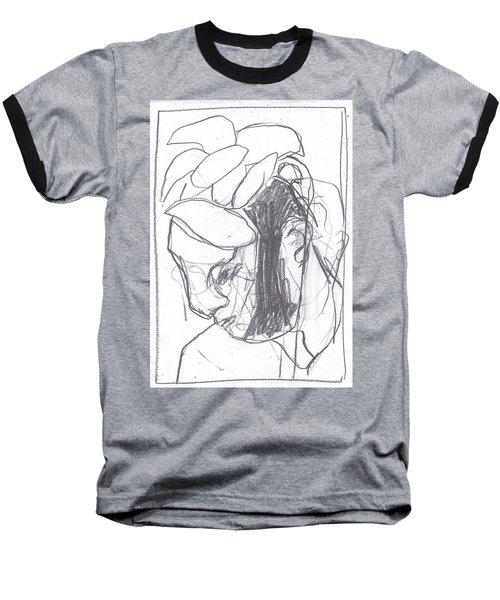 I Was Born In A Mine 8 Baseball T-Shirt
