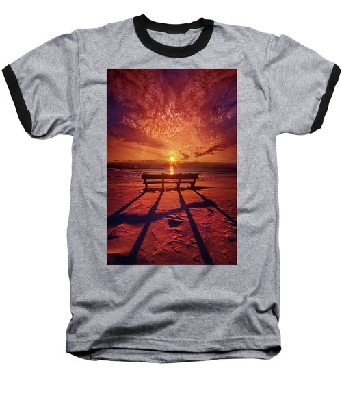 Baseball T-Shirt featuring the photograph I Will Always Be With You by Phil Koch