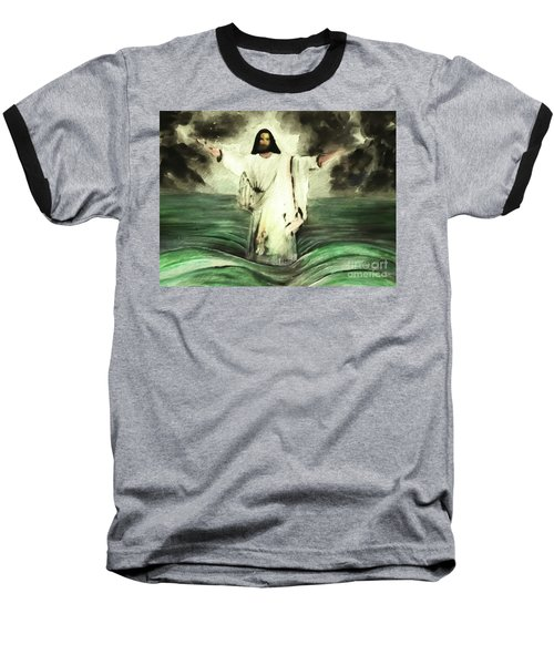 I Am Will Calm Your Sea Baseball T-Shirt