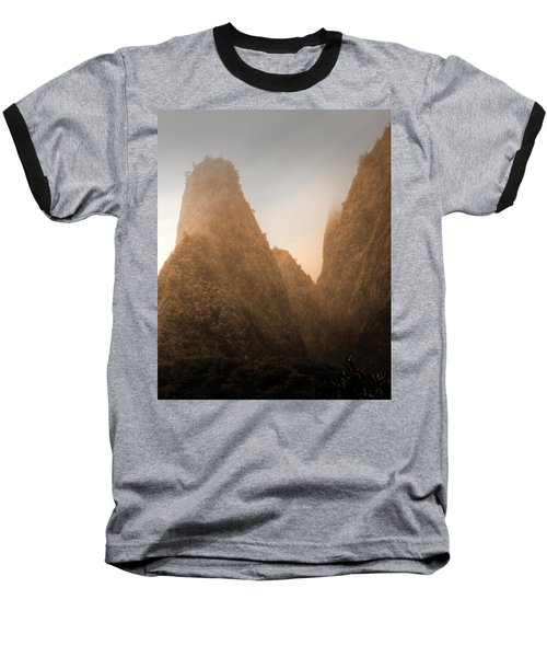 Iao Needle In Sepia Baseball T-Shirt