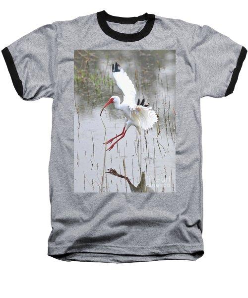Ibis Soft Water Landing Baseball T-Shirt