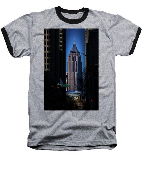 Ibm Tower Baseball T-Shirt