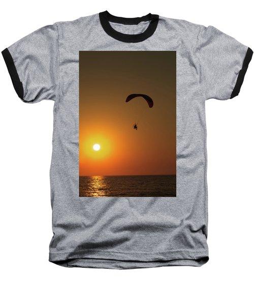 Icarus Baseball T-Shirt