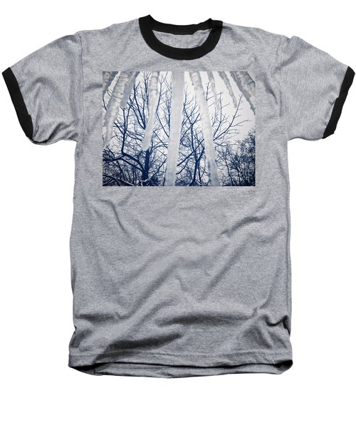 Baseball T-Shirt featuring the photograph Ice Bars by Robert Knight