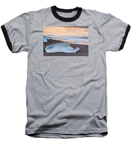 Ice Beach Baseball T-Shirt