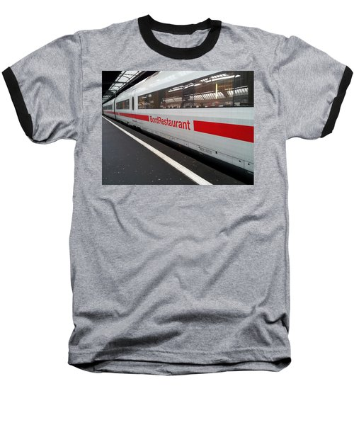 Ice Bord Restaurant At Zurich Mainstation Baseball T-Shirt