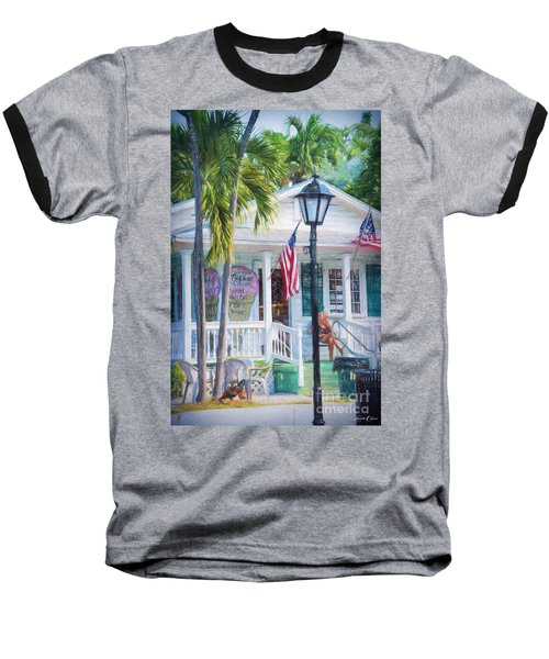 Ice Cream In Key West Baseball T-Shirt