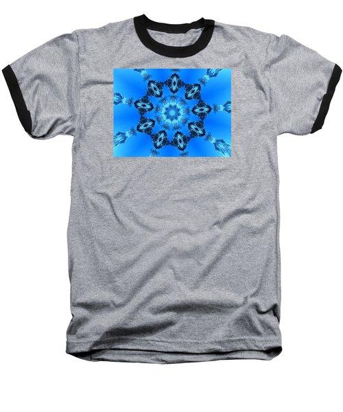 Ice Cristals Baseball T-Shirt by Ernst Dittmar